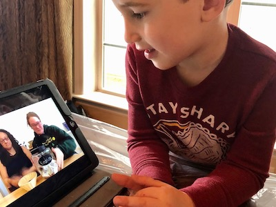 virtual montessori greeting